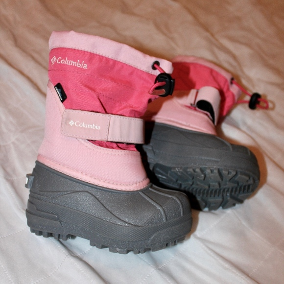 Pink Columbia Girls Winter Boots Size 7